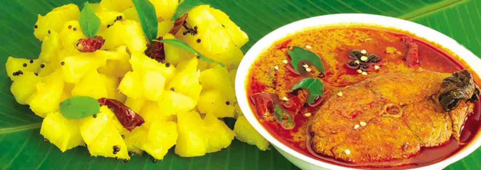 Showcase for Cuisine of kerala